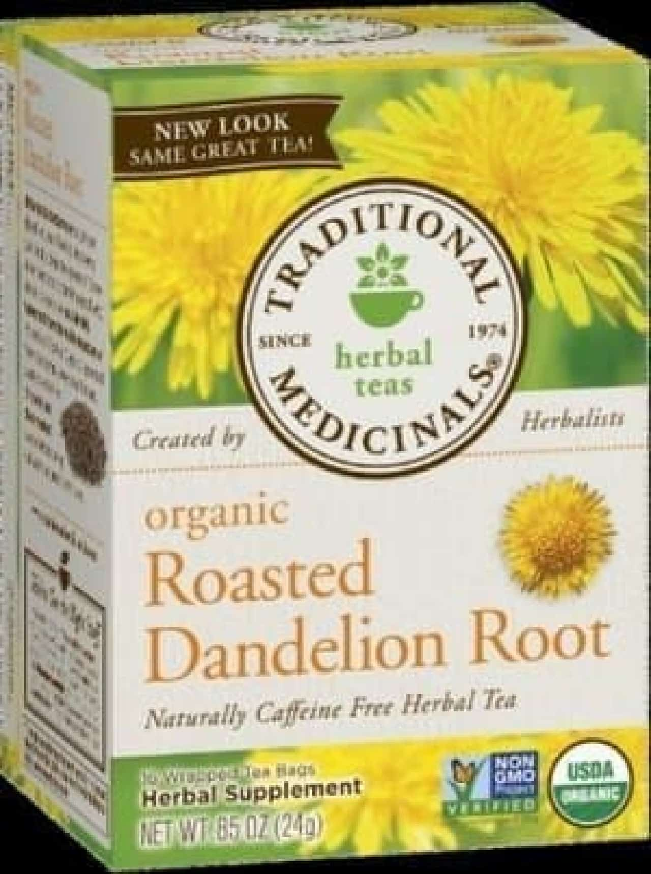 注目されている「タンポポ茶」  (出典:Traditional Medicinals)