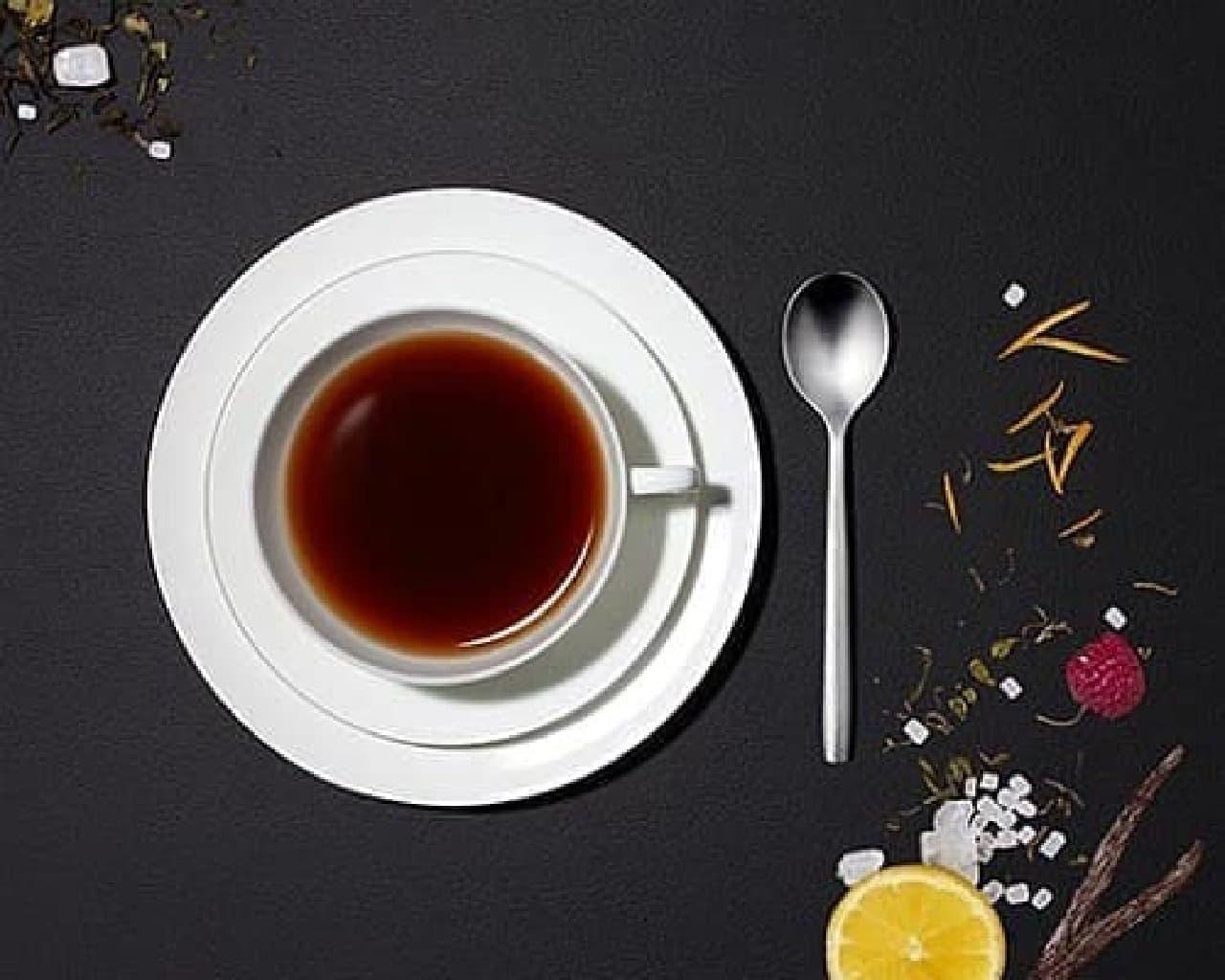 紅茶となる