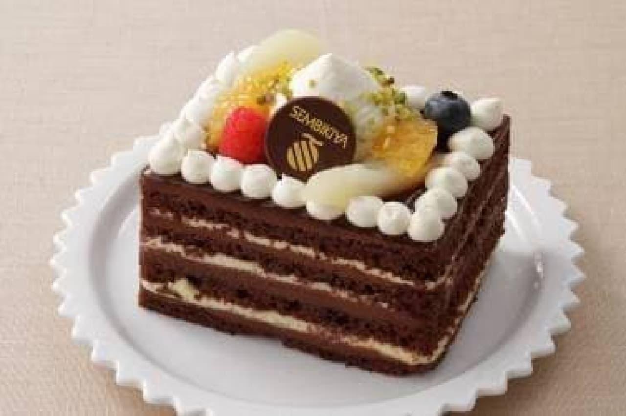 京橋千疋屋「丸の内駅舎 1周年記念ケーキ」