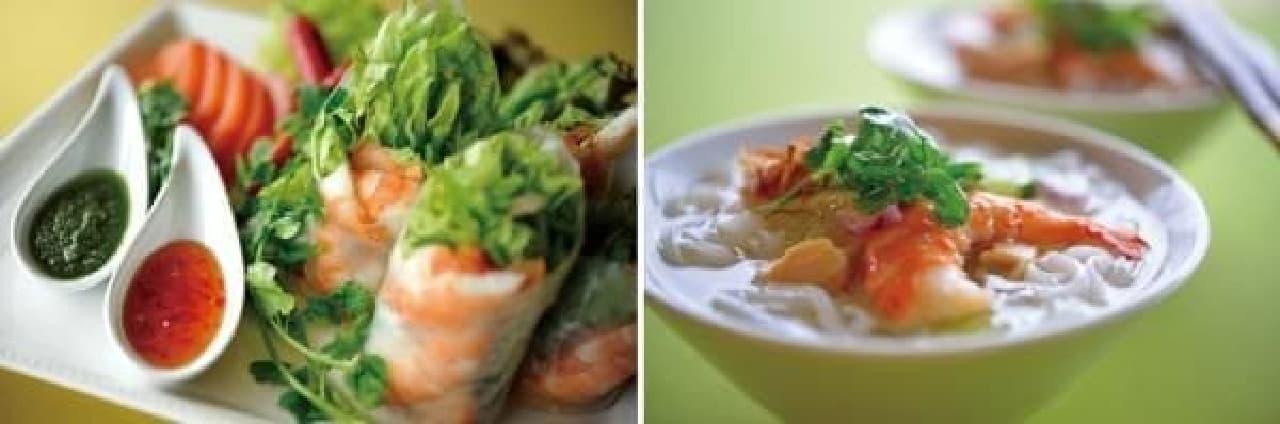 本場のシェフによるベトナム料理がラインナップ!