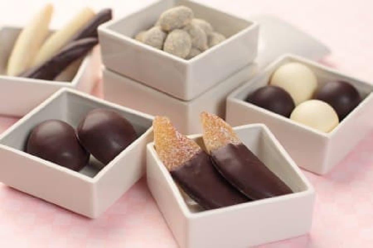 和菓子屋が素材にこだわって作ったオリジナルチョコレート