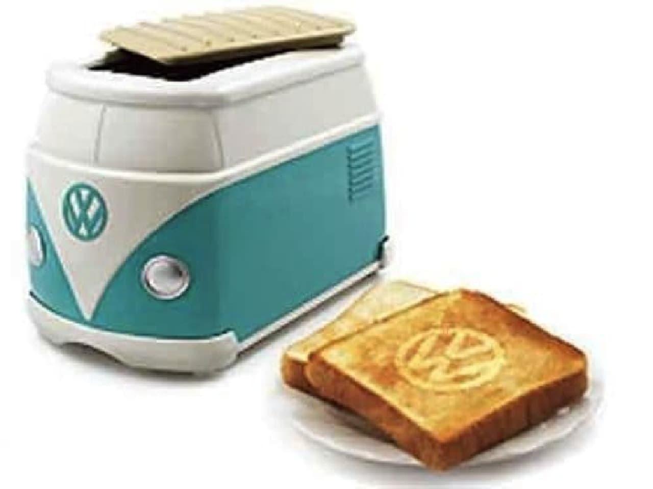 日本のフォルクスワーゲンディーラーが配布していたワーゲンバストースター  欲しい!