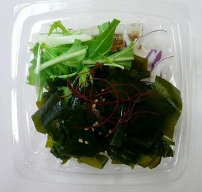 「三陸産わかめのサラダ」