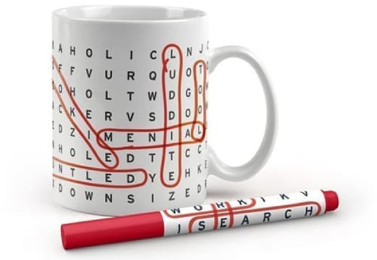 「WORK SEARCH Office Mug」  ひとり遊びが好きな私にぴったり