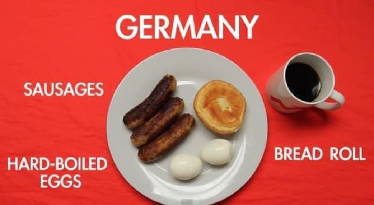 ドイツはやっぱりソーセージ
