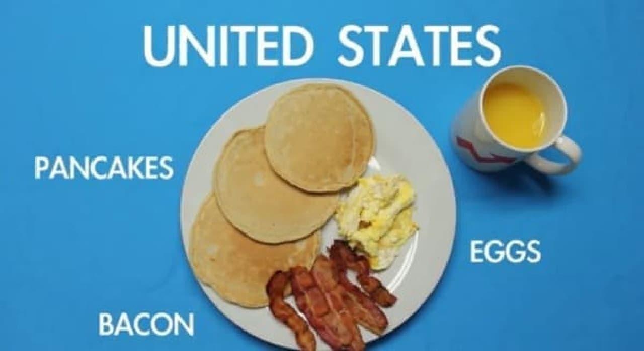 世界の朝ごはんを、ワンプレートでご紹介