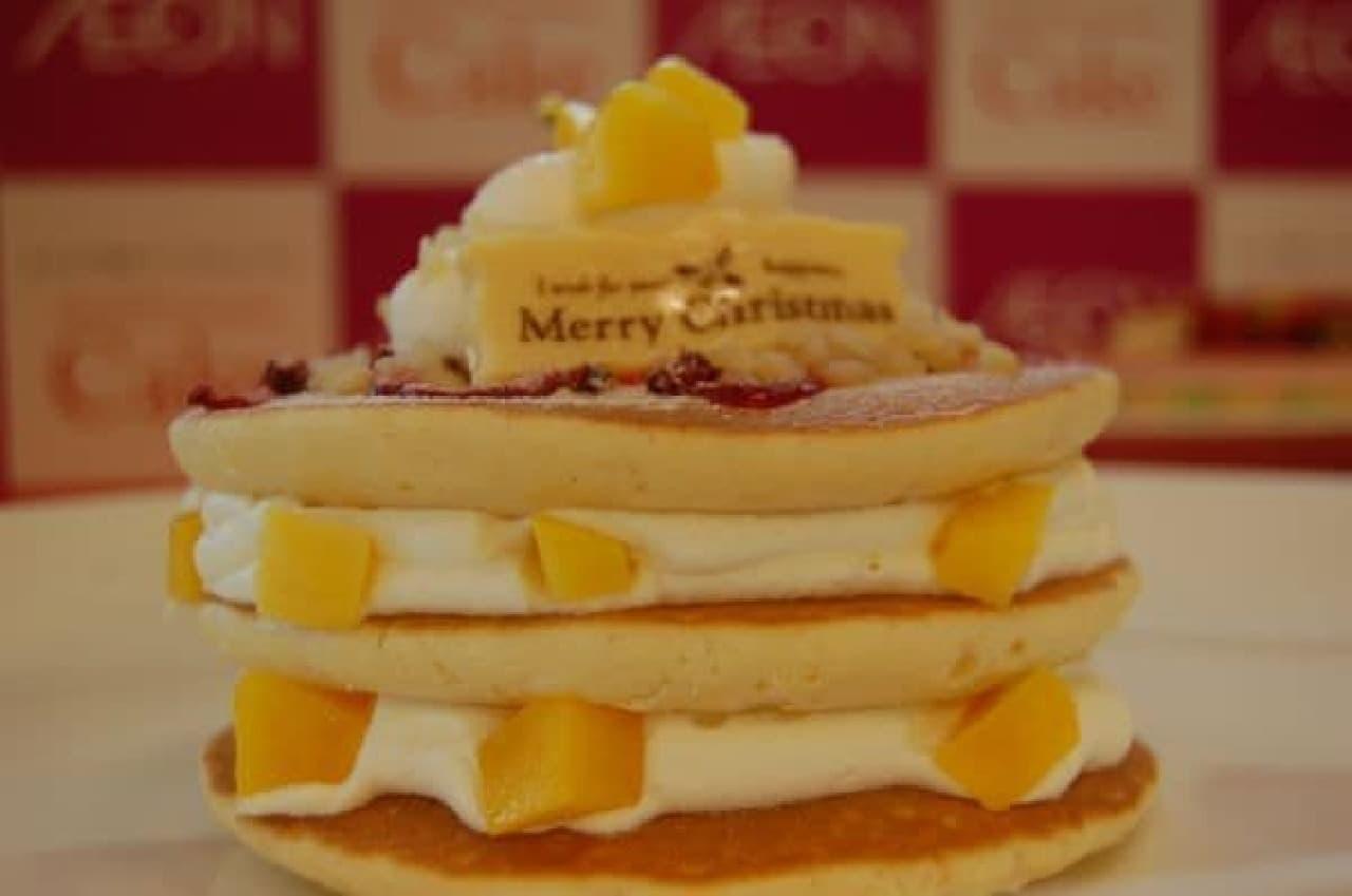 「ハワイアンクリスマスパンケーキ」