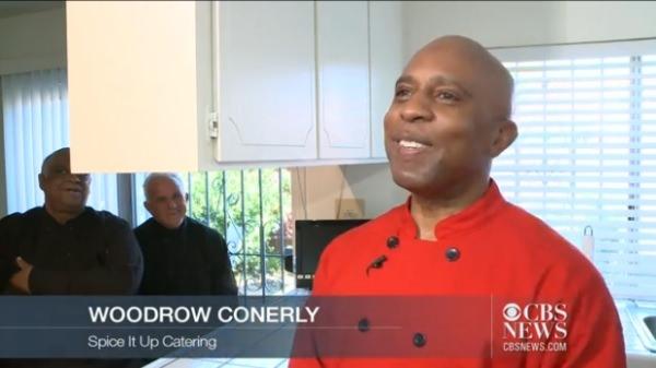「確かに二日酔に効くのです」と話した Woodrow Conerly 氏(出典:CBS News)