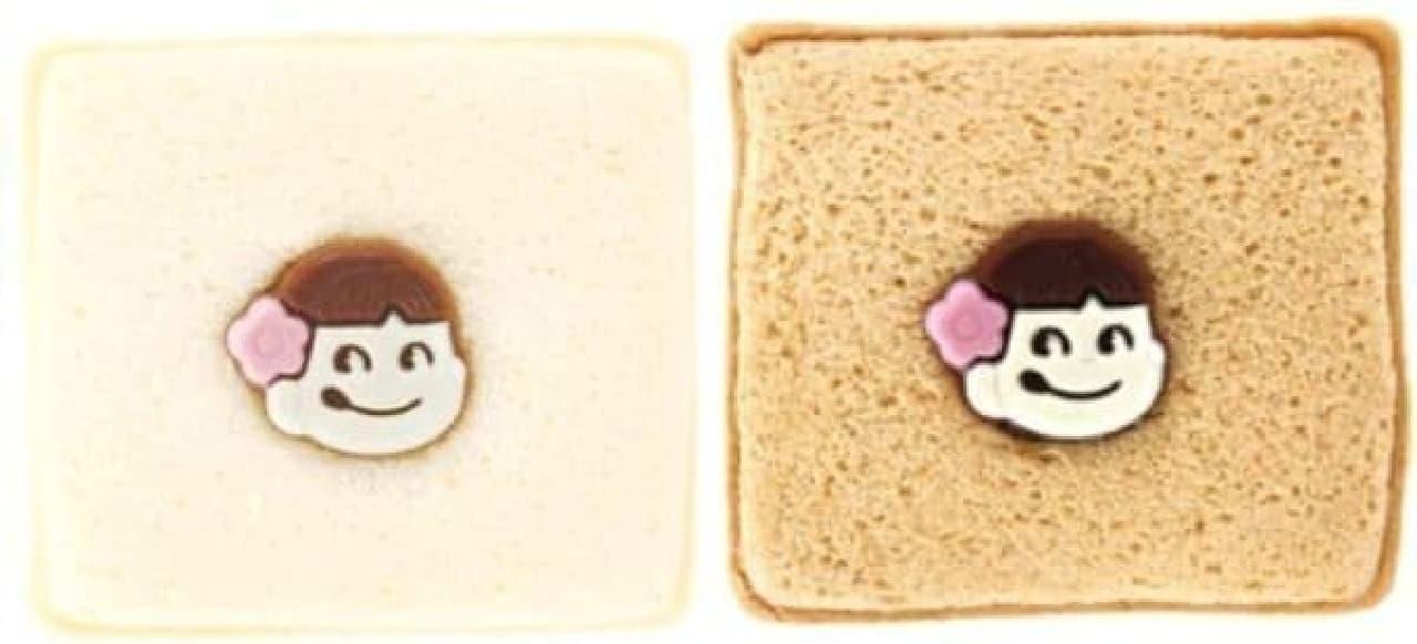 苺ショートケーキ(左)、生チョコクリーム(右)
