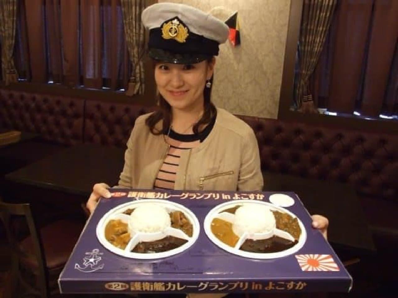 本物の海軍カレー、食べてみない?  (出典:横須賀観光情報 cocoyoko.net)