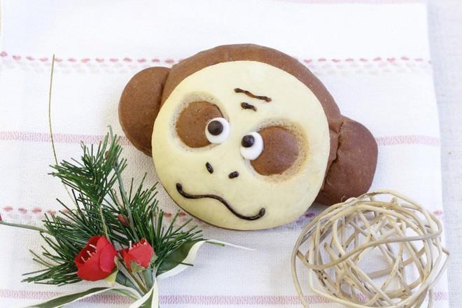 九州エリア 「おさるパン(チョコクリーム)」