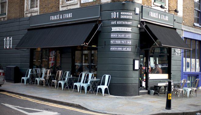 ロンドンの店舗(イメージ)