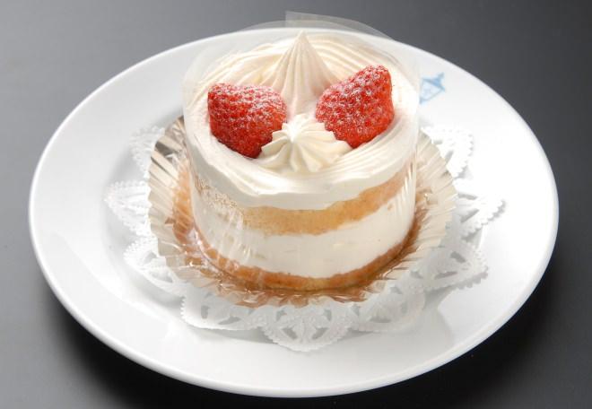 横濱十番館のショートケーキ
