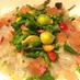 華やかな桜鯛に石巻ベビーリーフを散らして|シェフズライブキッチン