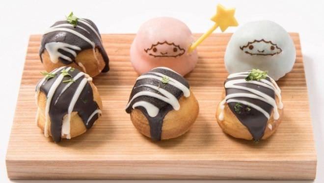 キキ&ララ特製!たこ焼き風プチケーキ☆