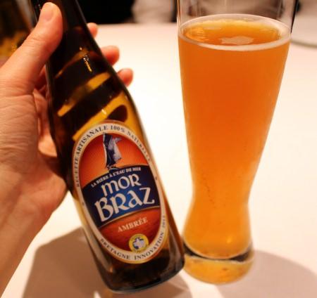 """「モル・ブラッツ アンバー・エール」 """"海水""""でつくられるビールですって!"""