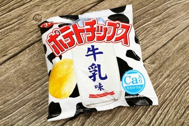 ポテトチップス 牛乳味