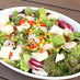 エビと豆富とアボカドのサラダ|ユーグレナビアガーデン