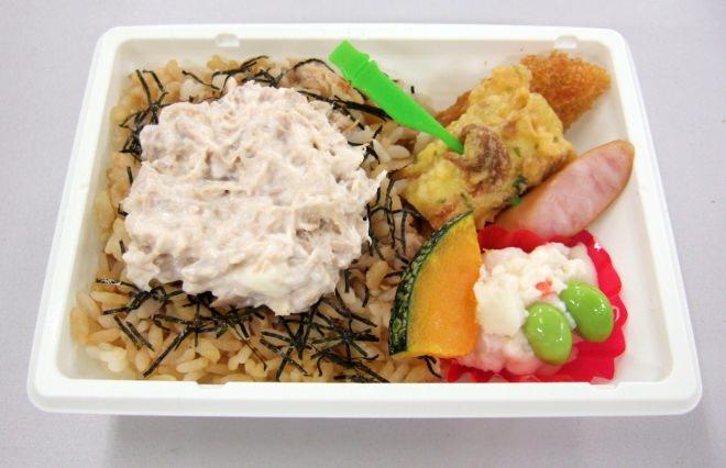 シーチキンマヨご飯