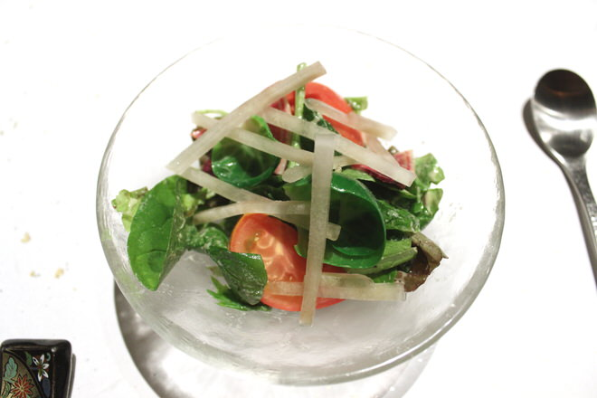 夏野菜のサラダ|神楽坂鳥半