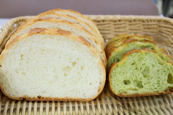 左がパン・ミエル シトロン、右が抹茶ショコラブラン