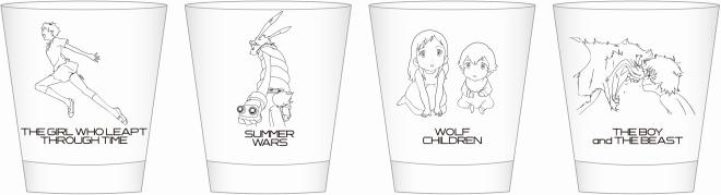 グラス 全4種(各1,000円)
