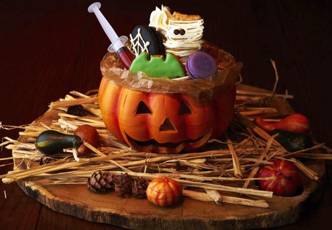 毛利 サルヴァトーレ クオモ「おばけかぼちゃのモンスターパフェ」