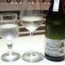 水(一番左)のように澄んだワイン|tetote