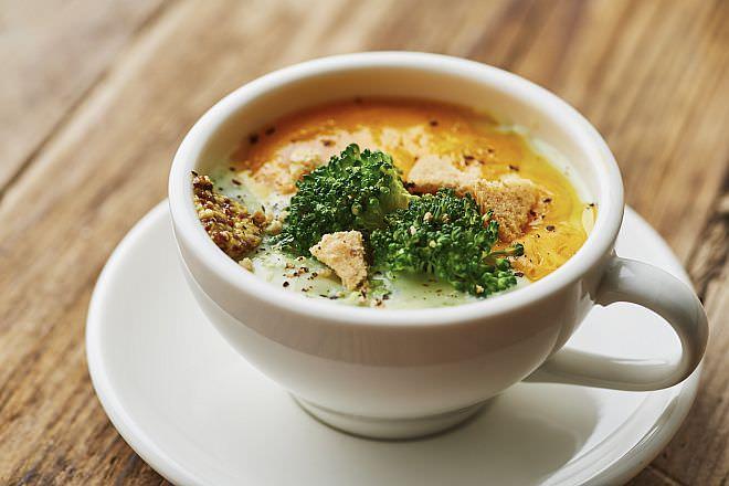 ブロッコリーチェダースープ