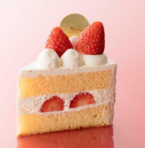 やよいひめ苺使用 プレミアムショートケーキ