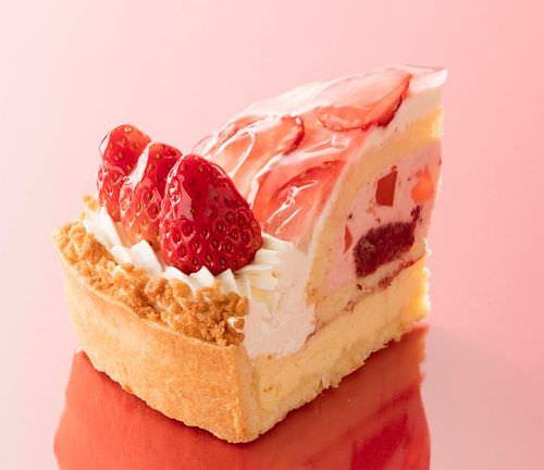 静岡県産紅ほっぺ種苺使用 苺のチーズタルト