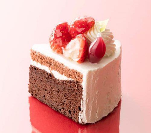 佐賀県産さがほのか苺使用 苺のガトーショコラ~ラズベリーソース添え~