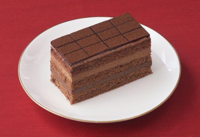 銀座のレンガ 生チョコケーキ