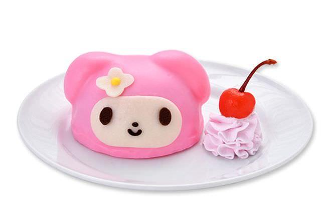 ピンクコーデのマイメロディケーキ