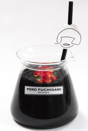 YOKO FUCHIGAMIブラック塗料メロンソーダ 790円
