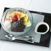 BUNMEIDO CAFE「金魚ゼリーの特製あんみつ」