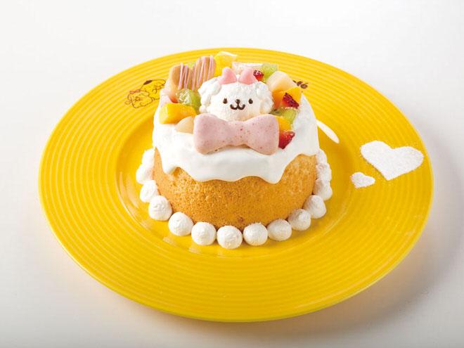 マカロンの宝物がいっぱい♪ふわふわシフォンケーキ(横浜店限定) 1,090円