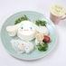 ふわふわ雲のシフォンケーキ 星屑を添えて 1,280円(マグカップ付きは1,580円)